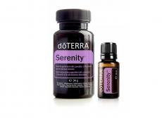 dōTERRA Serenity® Combo Pack, 15 ml und 60 vegetarische Kapseln
